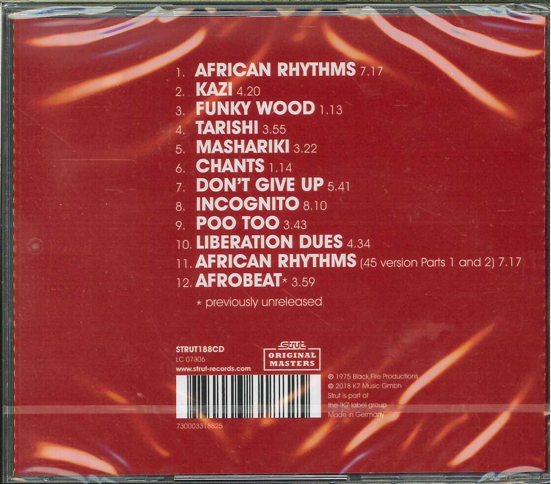 芽瑠璃堂 > ONENESS OF JUJU 『African Rhythms (CD) (直輸入盤 ...