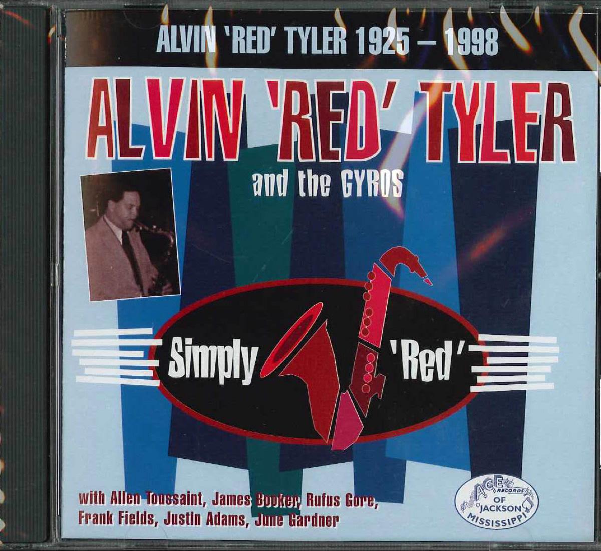 芽瑠璃堂 > ALVIN 'RED' TYLER 『Simply Red (allen Toussaint) 18 Tracks (カット盤) (直輸入盤)』WESTSIDE00529